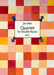 Cover of Quartet for Double Basses no 1